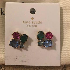 Kate Spade Multi Gem Earrings